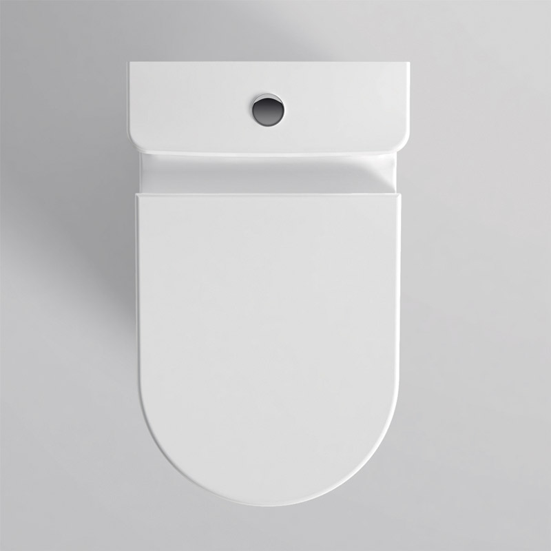 Well back to wall wc white glossy atelier - Wc a l oud ...